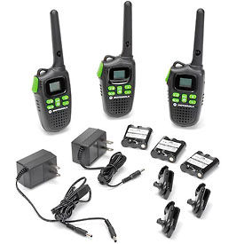 Motorola Talkabout MD200TPR Rechargeable Radio, 3 Radios