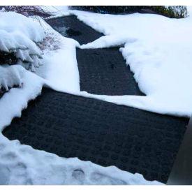 "Hotflake™ Outdoor Heated Anti-Slip Doormat - 24"" X 36"" 120v"
