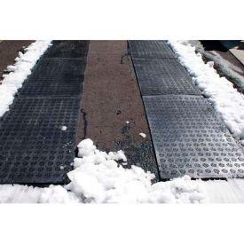 """Hotflake™ Outdoor Heated Anti-Slip Walkway Mat-32"""" X 56"""" 120v"""