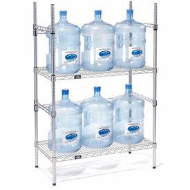 5 Gallon Water Bottle Storage Rack, 6 Bottle Capacity