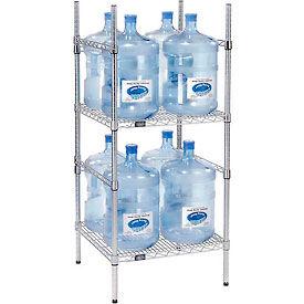 5 Gallon Water Bottle Storage Rack, 8 Bottle Capacity