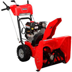 "Snapper® 24"" Dual Stage Snow Thrower w/ RS + 110V ES w/Cord"