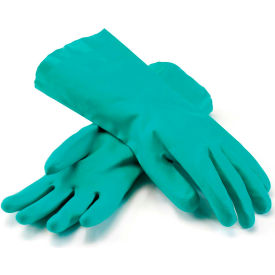 PIP Unlined Unsupported Nitrile Gloves, 15 Mil, Green, XL, 1 Pair