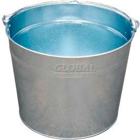 Vestil Galvanized Steel Bucket BKT-GAL-500 5 Gallon Capacity