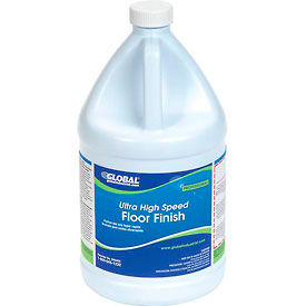 Global Industrial™ Ultra High Speed Floor Finish - Case Of Four 1 Gallon Bottles