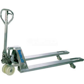 Wesco Stainless Steel Pallet Jack Truck 272152 4400 Lb. Capacity by