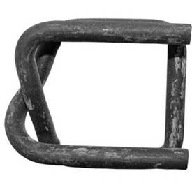 """Strapping Buckles Phosphate Coated For 3/4"""" Woven Cord Strap, 100 Pack"""