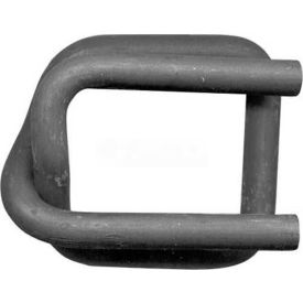 """Strapping Buckles Phosphate Coated For 1-1/2"""" Woven Cord Strap, 250 Pack"""