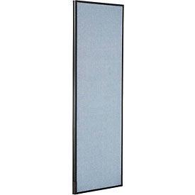 "Office Partition Panel, 24-1/4""W x 72""H, Blue"