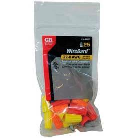 Assorted Color WireGard, 25 Piece Bag