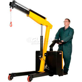 Vestil Electric Powered Lift & Drive Floor Crane EPFC-25 2500 Lb. Capacity