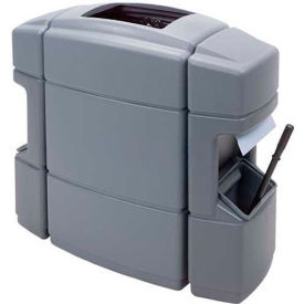 Waste 'N Wipe Service Center Double-Sided 40 Gallon, Gray - 770126
