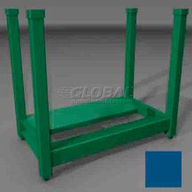 "Steel King - Portable Reel Rack 24""-28"" Dia. Coils - Precuation Blue"
