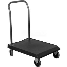 Wesco® Value Plastic Platform Truck 272282 Fixed Handle 30x22 265 Lb.