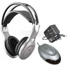 Infrared Headphone Set IR-20Set, Silver/Black
