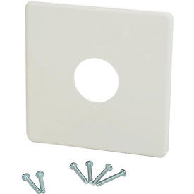 "PECO Wall Plate 65345, 4"" X 4"" For  PECO T155, T167, T158, T168 Series Thermostats - Pkg Qty 10"