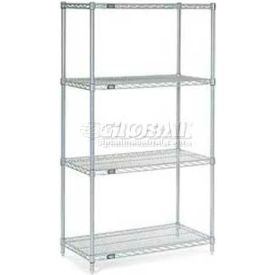 "Nexelate Wire Shelving 72""W x 24""D x 86""H"