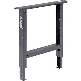 """Adjustable Height 29 To 35 Leg For 30"""" Bench Black"""