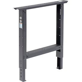 """Adjustable Height 29"""" To 35"""" Leg For 36"""" Bench Black"""