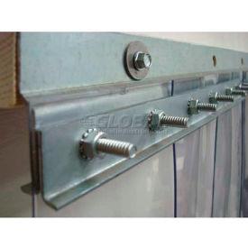 "Chase Doors 48"" 14 ga. Steel Strip Door Mounting Hardware E5GHW2829C48HD by"