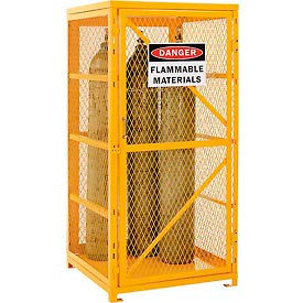 Cylinder Storage Cabinet Single Door Vertical, 9 Cylinder Capacity