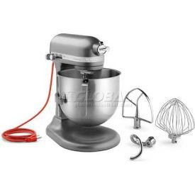 KitchenAid® Commercial 8 Qt. Bowl Mixer Dark Pewter - KSM8990DP