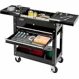 Global™ Industrial 2-Drawer Tool Cart w/ 69-Piece Tool Set