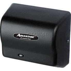 American Dryer Advantage Series Hand Dryer W/ Universal Voltage 100-240V -Steel Blk Graphite AD90-BG