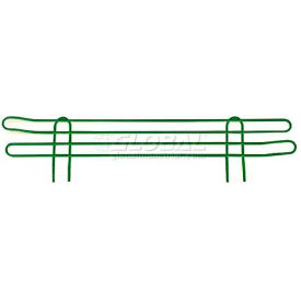 Nexel Green Wire Ledge 24 x 4