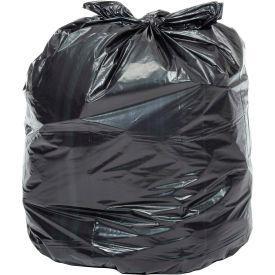Global Industrial™ Heavy Duty Black Trash Bags - 33 Gallon, 1.4 Mil, 100/Case
