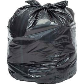 Global Industrial™ Heavy Duty Black Trash Bags - 40 to 45 Gal, 1.0 Mil, 100 Bags/Case