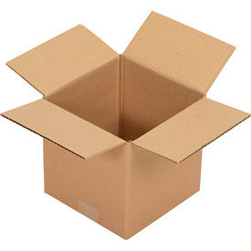 """Corrugated Boxes 25 Pack 8"""" x 8"""" x 8"""" Single Wall 32 ECT"""