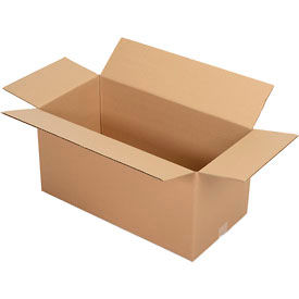 """Corrugated Boxes 25 Pack 24"""" x 12"""" x 12"""" Single Wall 32 ECT"""