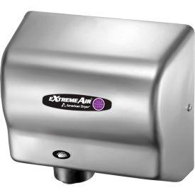 American Dryer ExtremeAir High Speed Hand Dryer W/ Germ Killing Technology - Satin Chrome CPC9-C