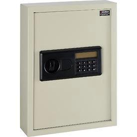Global™ Electronic 48 Key Safe Cabinet, Sand