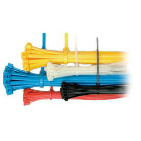 375 Piece Assorted Cable Ties Package