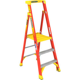 Werner 3' Type 1A Fiberglass Podium Ladder - PD6203