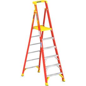 Werner 6' Type 1A Fiberglass Podium Ladder - PD6206