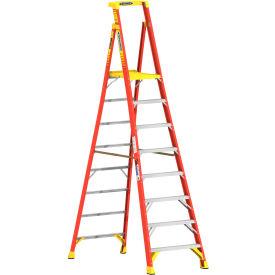 Werner 8' Type 1A Fiberglass Podium Ladder - PD6208