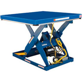 Click here to buy Vestil Electric Hydraulic Scissor Lift Table EHLT-4848-4-43 48 x 48 4000 Lb..