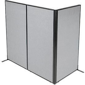 Office panels dividers Magnetic Whiteboard Office Partitions Room Dividers Office Partition Panels Freestanding 3panel Corner Room Divider 3614quotw 72quoth Panels Gray 695051gy Global Industrial Office Partitions Room Dividers Office Partition Panels