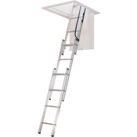 "Werner Aluminum Compact Attic Ladder 18""W x 9'10"" - AA1510B"