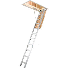 "Werner Aluminum Attic Ladder 22-1/2""W x 8-10' - AH2210"