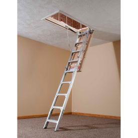 """Werner Aluminum Energy Seal Attic Ladder 22-1/2""""W x 8-10' - AE2210"""