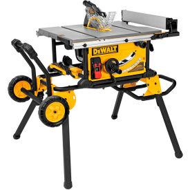 "DeWALT® DWE7491RS 10"" Jobsite Table Saw & Rolling Stand"