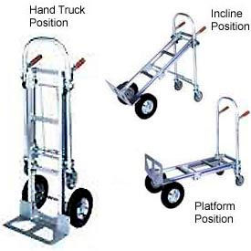 Wesco® Cobra 3-In-1 Convertible Aluminum Hand Trucks