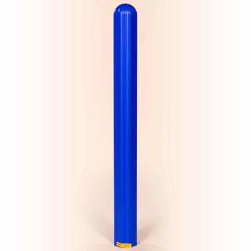 "Eagle Ribbed Bollard Post Sleeve 8"" Blue, 1738BLUE"