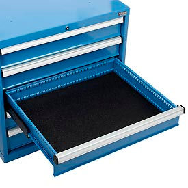 "Drawer Mat Kit for 30""Wx27""D Global™ Global Modular Drawer Cabinet, Black"