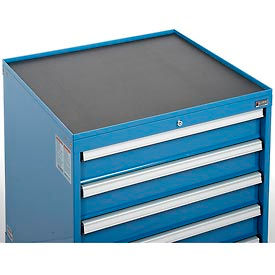 "Top Tray w/Vinyl Mat for 30""Wx27""D Global™ Modular Drawer Cabinet"