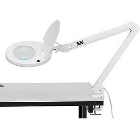 3 Diopter LED Magnifying Lamp, White